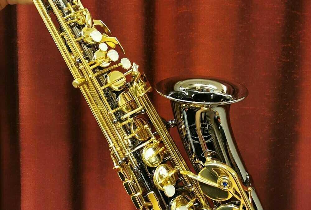 Jupiter JAS-769 black nickel – Altsaxofon